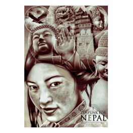 ZENPUNK FOR NEPAL (Poster)